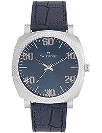 Swisstone SW-GR021-BLU Blue Dial Blue Strap Analog Watch For Men/BoyS