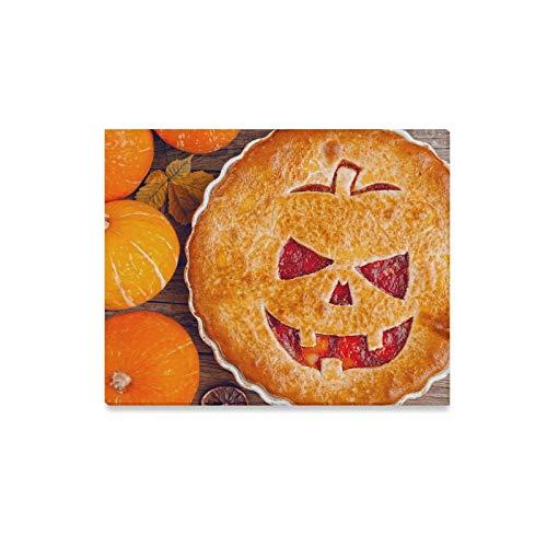 lerei Köstliche Hausgemachte Torte Halloween Füllung Kürbis Erdbeer Drucke Auf Leinwand Das Bild Landschaft Bilder Öl Für Zuhause Moderne Dekoration Drucken Dekor Für Wohnzimmer ()