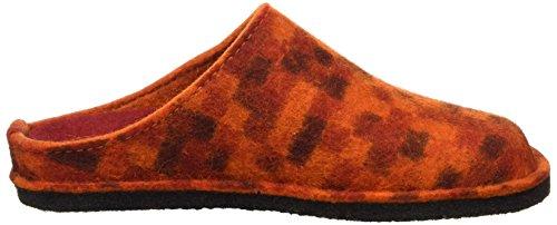 Haflinger Unisex-Erwachsene Flair Pp23 Pantoffeln Rot (Rubin)