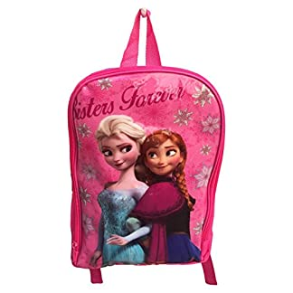 41Lcp DUhkL. SS324  - Mochila Bolsa Frozen Elsa Anna Kinder Disney 30 cm - AST1939