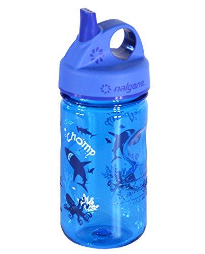 Nalgene Kinder Trinkflasche Everyday Grip-N-Gulp Blau, 0.35 Liter