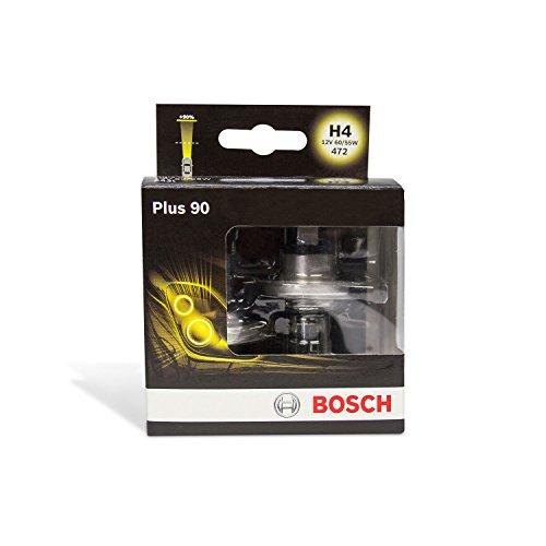 Preisvergleich Produktbild Bosch Autolampenset H4 Plus +90, Doppelbox