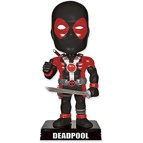 Figura Cabezón movible Marvel Deadpool Wacky Wobbler
