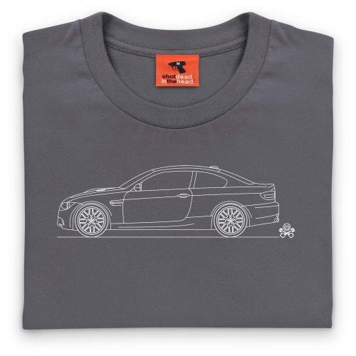 PistonHeads Bimmer Saloon T-Shirt, Herren Anthrazit
