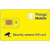 SIM Card per VIDEOCAMERA Things Mobile con copertura globale e rete multi-operatore GSM/2G/3G/4G LTE, senza costi fissi, senza scadenza e tariffe competitive, con 10 € di credito incluso