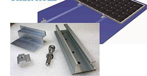 Schiene Mittelklemme Blechdach Pv Alu Halter Choice Materials Solar Trapezblech Befestigung Set