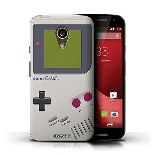 Stuff4 Hülle / Case für Motorola Moto G (2014) / Nintendo Game Boy Muster / Spielkonsolen Kollektion - Gameboy Moto Motorola Case G