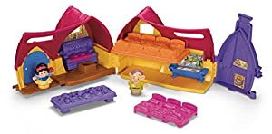 Fisher Price Little People Disney Princess Snow White's Cottage