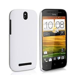 HTC One SV Tasche HTC One SV Weiß Harte Hybride Hülle
