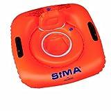 SIMA by Fashy Schwimm-Schule Schwimmsitz, orange, 818x815 mm, 8250 1