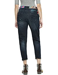 Jean Desigual Denim Petra Denim Dark Blue 67d26d8