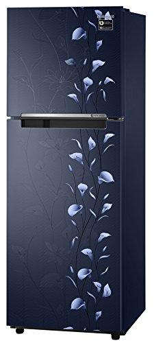 Samsung 253 L 2 Star Frost-free Double Door Refrigerator (RT28M3022UZ, Tender Lily Blue)