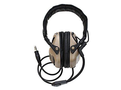 EARMOR Universal Bügel Headset M32 mit NRR 22 Schallschutz, voll verstellbar - TAN...