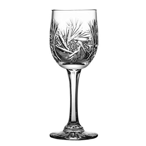 Crystaljulia 0204 Weinglas Kristall 115 ml 6 x 6 x 16.5 cm 6 Einheiten