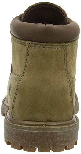 Timberland Women s Nellie Ankle Boots  Grey  Taupe Nubuck 236   5 5  38 5 EU