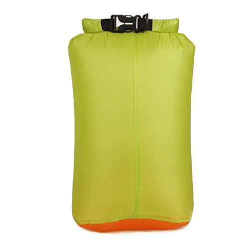 HSL wasserdichte Tasche aus ultraleichten lagerung Tasche fur reisen, kajak fahren, schwimmen, grune, m
