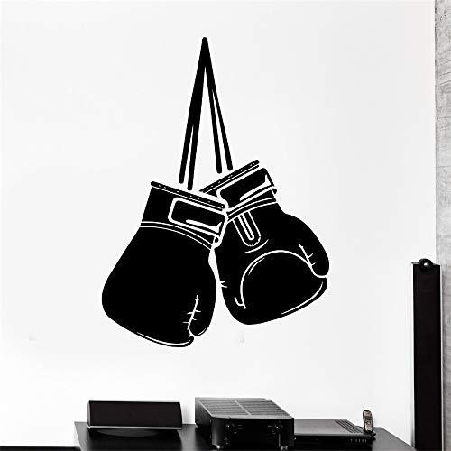 Fototapete Sport Box Boxhandschuhe Kampfsport Kampf Vinyl Aufkleber weiß 43cm x 57cm