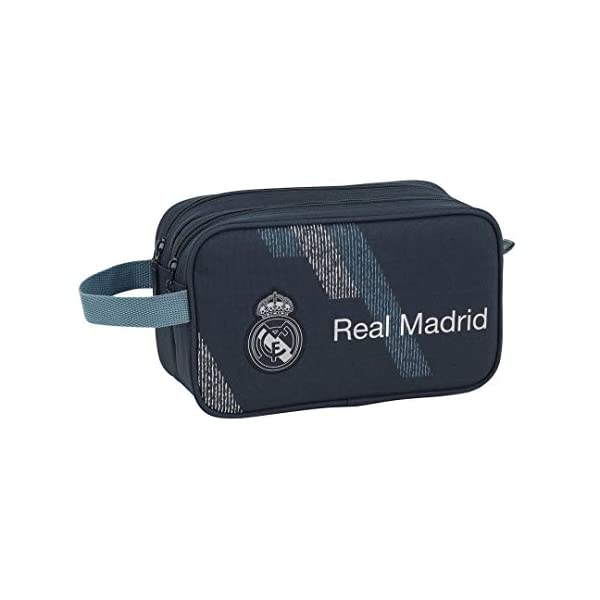 Safta Real Madrid 2 Neceser 26 cm, Azul