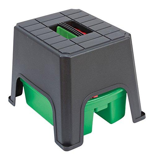 Store Hocker Aufbewahrung (Kunststoff Schritt und Store. Funktioniert sowohl als Speicher Werk und eine Mini Schritt)