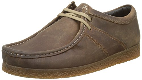 Base London Legacy, Scarpe Stringate Uomo, Beige (Beige (Pull Up Tan)), 46
