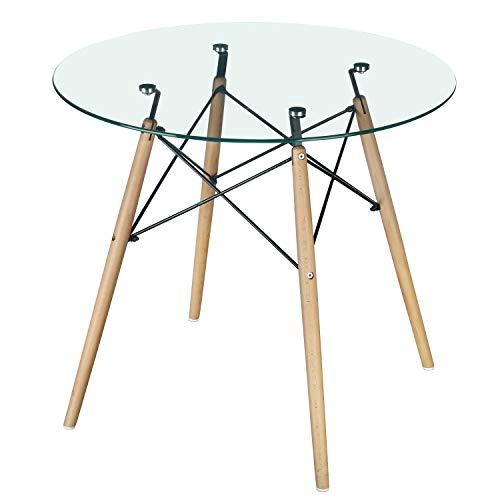 Forest Green Outdoor-stuhl (greenforest Esstisch und Esszimmer Stühle 4Stück Glass Table-Clear)