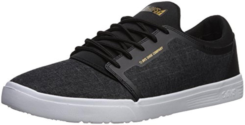 DVS Schuhe Stratos LT+ Black Chambray  Billig und erschwinglich Im Verkauf