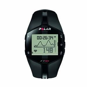 Polar FT80 Cardiofréquencemètre homme Noir/blanc
