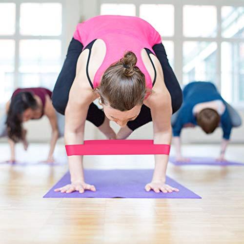 Training Zubehör Training Fitness Gum Fitnessstudio Stärke Widerstandsbänder Pilates Sport Gummi Fitness Bands Kreuz fit Sport