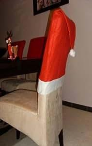 8er weihnachts stuhlhussen set weihnachten stuhl hussen. Black Bedroom Furniture Sets. Home Design Ideas
