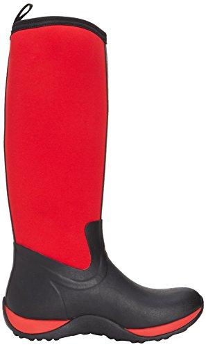 Muck Boots - Arctic Adventure Print, stivali di gomma  da donna Nero (Black  (Black/Red))