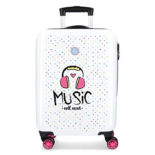 Hardside Carry-on Suitcase Roll Road Music