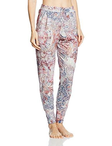 Short Stories Pants Long, Bas de Pyjama Femme Multicolore - Mehrfarbig (mid taupe 6092)