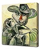 Pablo Picasso - Fatherhood - Impression Sur Toile - Image Sur Toile - Impression Giclée