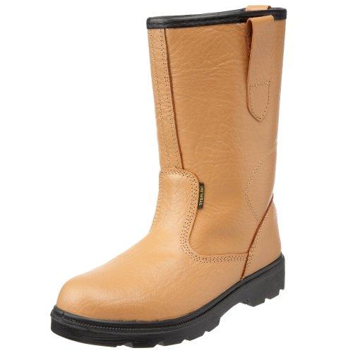 Sterling Safetywear Sterling Steel Work Site ss403sm size 5, Chaussures de sécurité homme Marron (Marron)