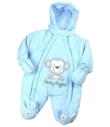 BabyPrem-Bb-Combinaison-De-Neige-Ski-Filles-Garons-Hiver-Vtements-Singe-0-6-Mois-50-68cm
