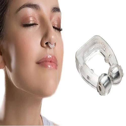 Nasenklammer Schnarchen, Schnarchen Stopper Silikon, Nasendilatatoren FüR Anti Schnarchen UnterstüTzung Schlafapnoe Relief, Premium Schnarch Stopper