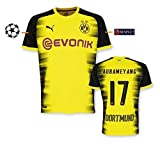 Trikot Herren BVB 2017-2018 International UCL- Aubameyang 17 (M)