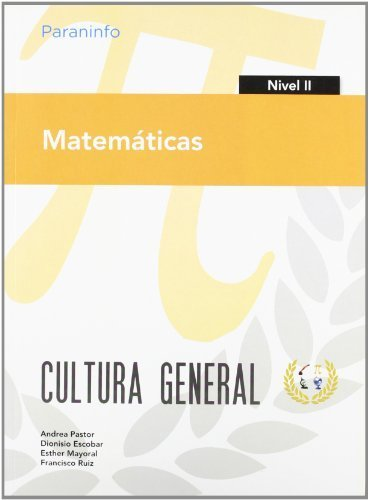 Matemáticas. Nivel II. Cultura general