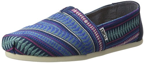 Toms Cobalt Tribal Woven Womens Classics, Loafer Flats (4 UK)
