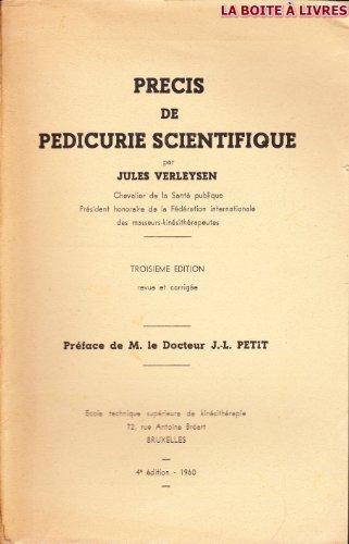 Prècis de pédicurie scientifique par VERLEYSEN JULES
