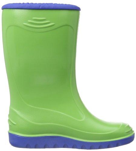 Romika Little Bunny Unisex-Kinder Halbschaft Gummistiefel Grün (lime-blau 646)