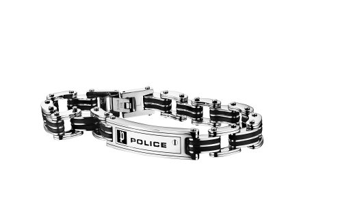 Police Herren-Charm-Armband Edelstahl PJ.24919BSB/01-L
