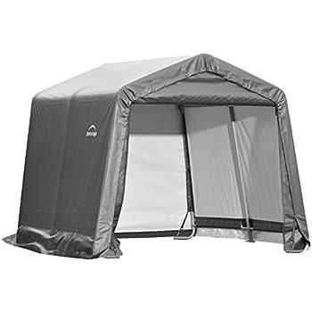 ShelterLogic Foliengerätehaus Gerätehaus in-a-Box, 3,24m², 180x180 cm; Foliengarage und Aufbewahrungsgarage