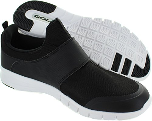 Gola Active Lupus Homme Baskets / Sneakers, Noir Black/White