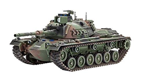 Revell - M48 a2ga2 Patton Combat pour kit de modèle en Plastique