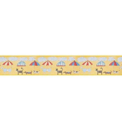 Harlequin Border Wallpaper - Cats Dogs - 70851 by Harlequin