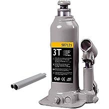 Autoselect 507073 – gato hidráulico de botella 3tonnes elevación Max: ...