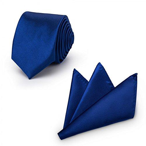rawatte mit Einstecktuch + Fliege - erhältlich in verschiedenen Farben - zum Anzug, zur Taufe, Hochzeits-Set - 3-teilig - Navy (60er Jahre Herren Anzug)