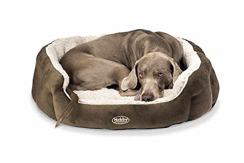 """Nobby 71459 Komfort Bett für Hunde Oval """"Kamega"""" 65 x 57 x 22 cm"""