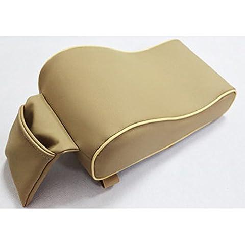 Zhhlaixing Accessoire voiture Car Soft Center Armrest Pad Cushion Pillow Support Pad Durable Wear Mat